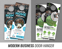 Modern Business Door-Hanger