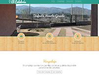 Cabañas el Calabrés - Web HTML5