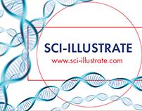 SCI-ILLUSTRATE Identity