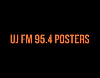 UJ FM 95.4 POSTERS