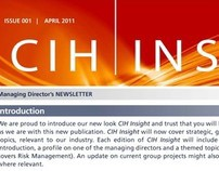 CIH Newsletter - Namibia, South-West Africa