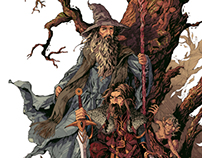 Gandalf & Thorin Oakenshield