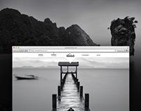 Photographer online portfolio