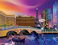 Las Vegas (Illustrator Drawing)