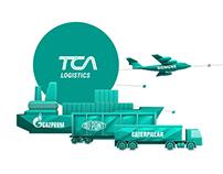 Illustration for TCA logistics