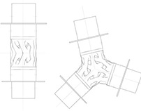 Plan Drawings for Fractal Weave Structure I