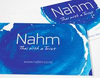 Nahm Thai Restaurant Branding