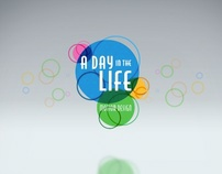 A Day in the Life Show Package Design / Colorful Ideas