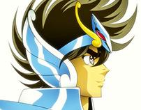 Saint seiya Anime style