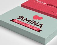 Amina - Logo/Card