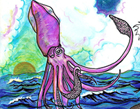 Magic and Gigant Squid