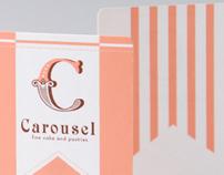 Carousel Cake Shop Branding