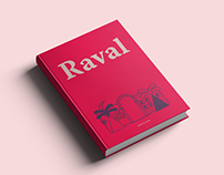 Raval cover book & print.