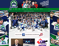 Swift Current Broncos website banners