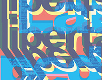 ›Across Opposites‹ Posters   Art-Direction/Design
