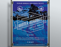Boarding Contest Poster III