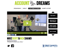 "First Dakota National Bank ""Account for Your Dreams"" 1"