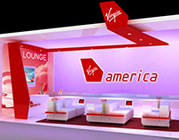 Virgin America Mall Lounge Concept - San Francisco Ctr.
