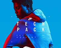 Nike Tech Pack in-store app