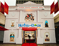 Paramount Pictures Hotel For Dogs Activation