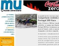 Trabalhos realizados no jornal Mundo Universitario 2