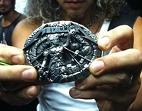 A Special Buckle Dedicated for Metallica