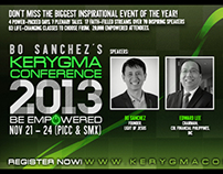 Kerygma Conference 2013 Facebook Teaser Second Campaign