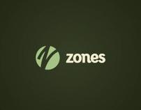 Zones Identity and Website