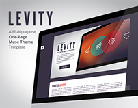 Levity - One Page Muse Theme