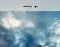Weather App progression