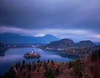 Fall in Bled