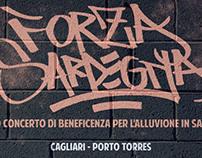 Flyer for FORZA SARDEGNA.
