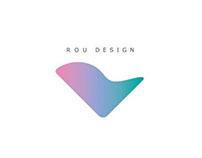 Rou design studio-Visual identity
