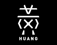 HUANG - Brand identity