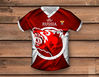 Russian football kit // redesign