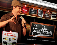 Steve Patterson Website and Visual Style