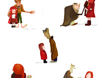 Mentor Project- Little Red Riding Hood