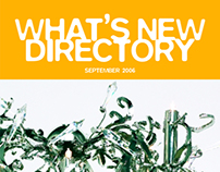 What's New Directory Sep 2006