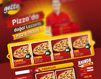 Getto Pizza Web Interface