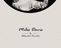 Miles Davis ~ dotwork