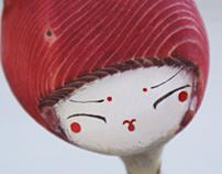 Oriental Red Diorama