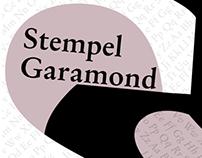 Type Specimen: Stempel Garamond