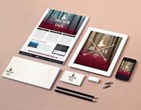 Brand, Logo & Flyer Design // Brown Owl Social Club