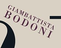 Bodoni Typographer Poster