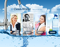 Water Filter - Clean Water Make Life Better HTML5