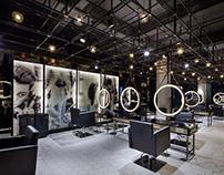 Wuxi barber Shop by S5 Design Co.,Ltd