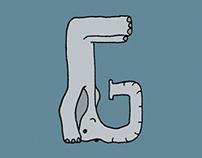 Elefont: the elephant alphabet