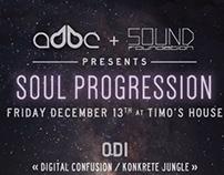 Soul Progression - flyer