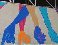 Haath Ki Safai, Mural: Kings Court, Bangalore