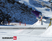 Quiksilver - Adobe Flash Page